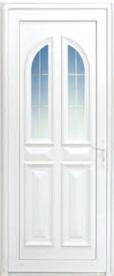 Porte d'extérieur en PVC Neobaie, modèle Belle Ile