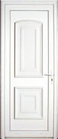 Porte d'extérieur en PVC Neobaie, modèle Corse