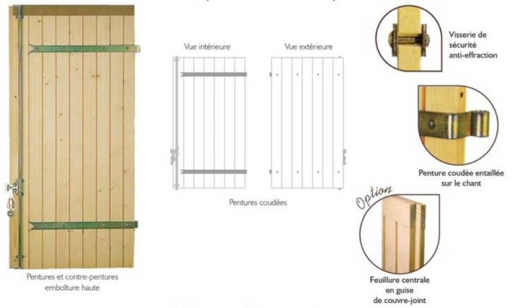 Volets et persiennes la gamme bois menuisor for Poser des gonds de volets